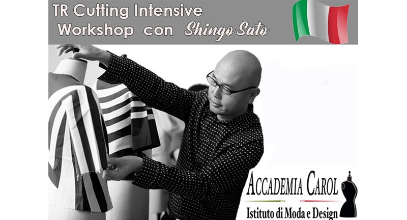 2-3 Febbraio 2019   TR Cutting avanzato  Workshop con Shingo Sato